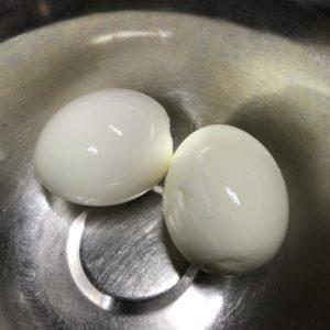 ゆで卵の殻がきれいに剥ける方法